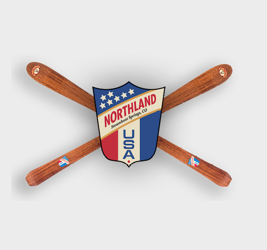 Northland Skis USA Badge Logo
