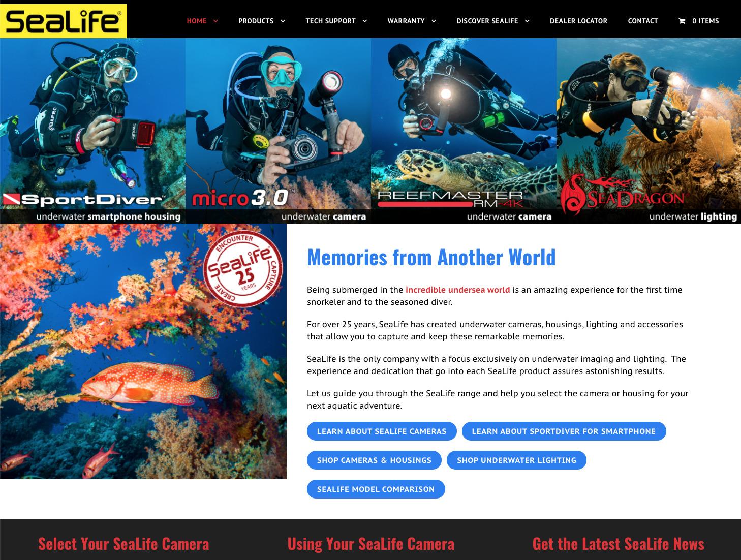 Sea Life Cameras