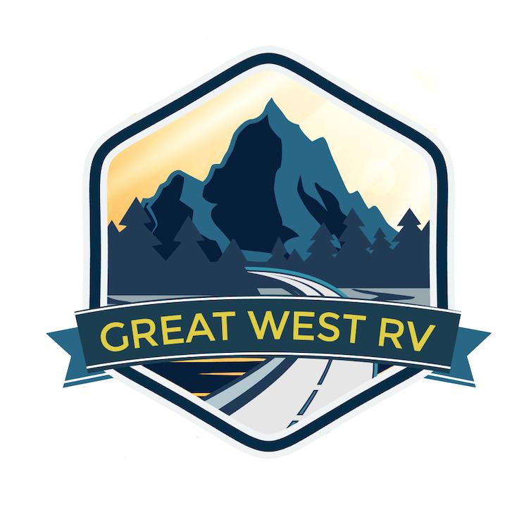 Great West RV Logo Design